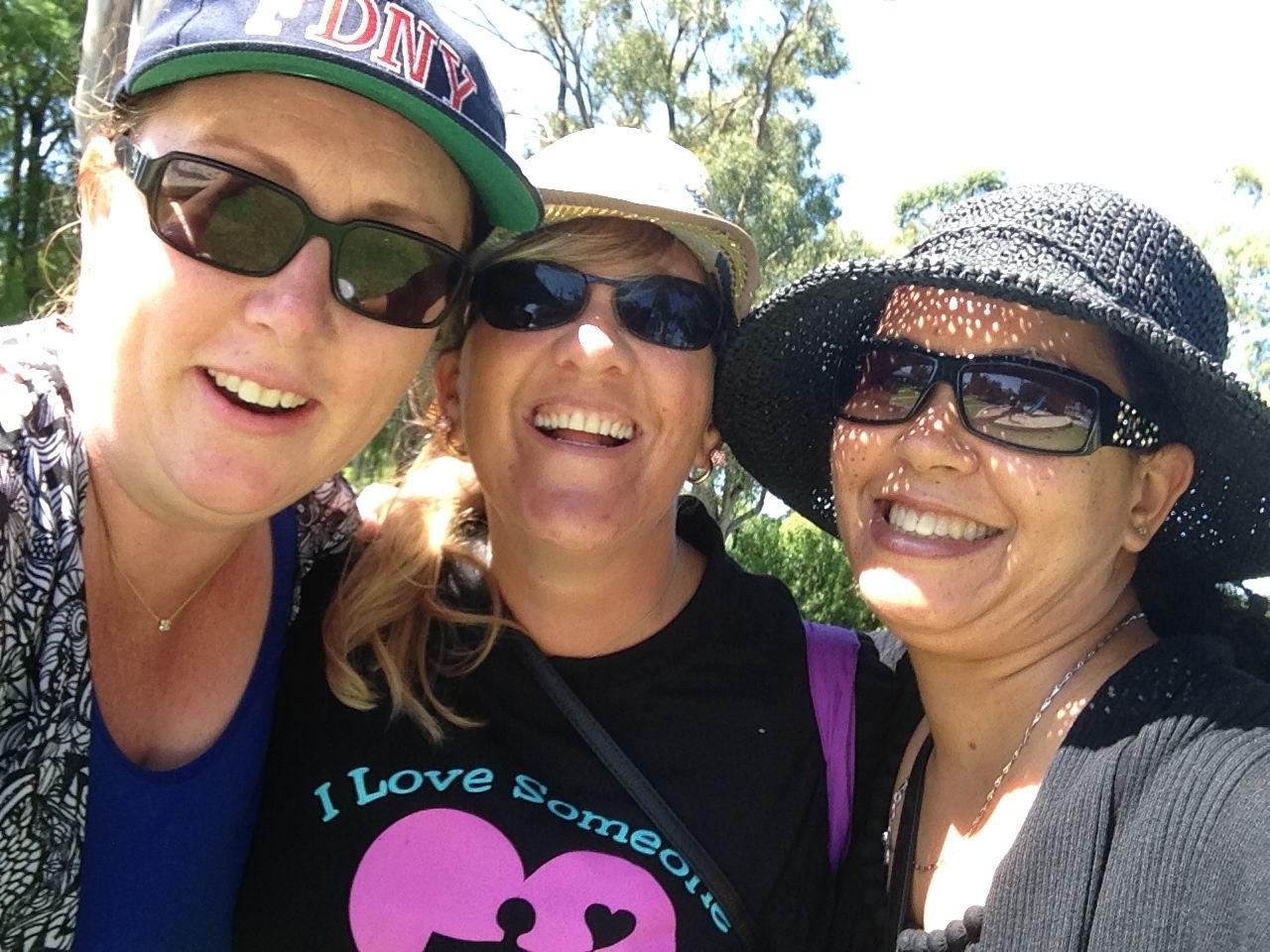 Ashdale Special Families founders Tammy Bija, Delyse Clayden and Tash Yahya.