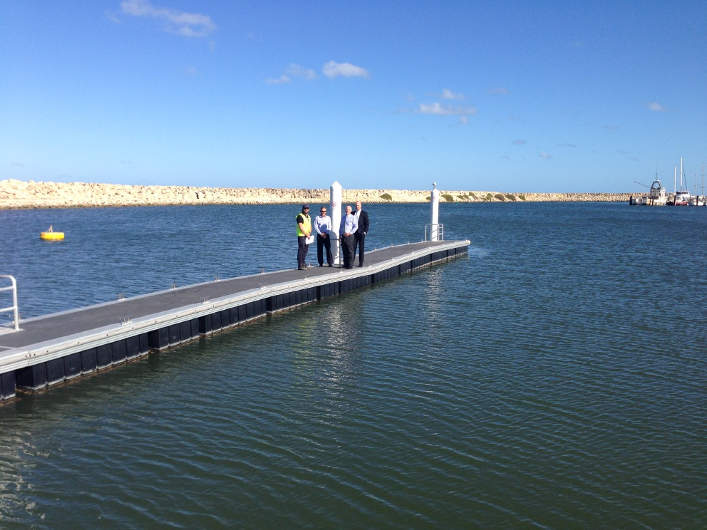 Two Rocks Marina upgrades to benefit Two Rocks Volunteer Marine Rescue Group