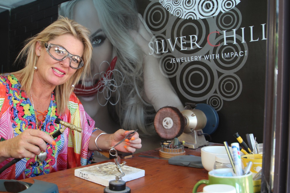 Jewellery designer Carolyn Baird is a finalist in the 2016 Australian Small Business |Champion Awards.