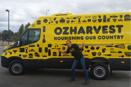 OzHarvest operations manager Candis Fraser.