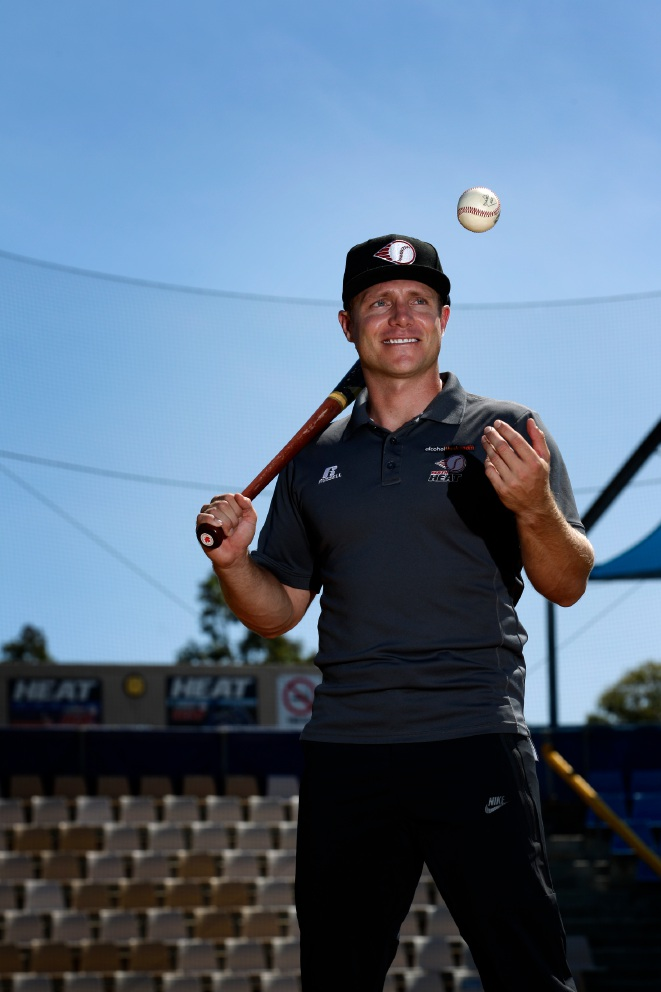 Perth Heat's Luke Hughes has high hopes for WA baseballers