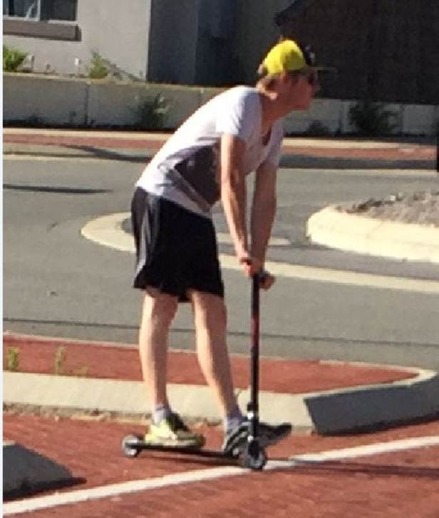 Police would like to speak to this man following an incident in Baldivis