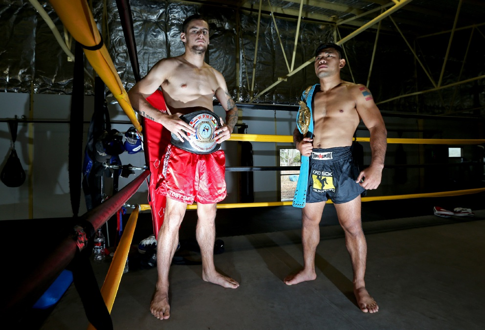 "Toby Smith of Canning Vale and Komkit ""JACK 30"" of Forrestdale will both be fighting."