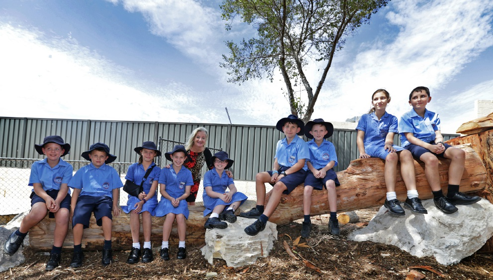 Alkmios Baptist College students favour nature over TV