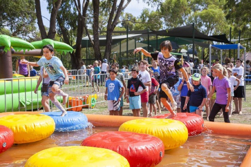 Kids enjoying last year's event.