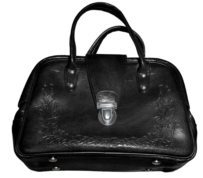 Police are looking for a Russian-made, black handbag stolen from Valeria Fermendjin's Melville home.