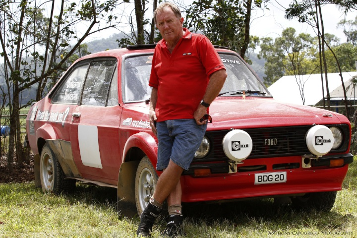 Five-time Australian Rally Champion Ross Dunkerton