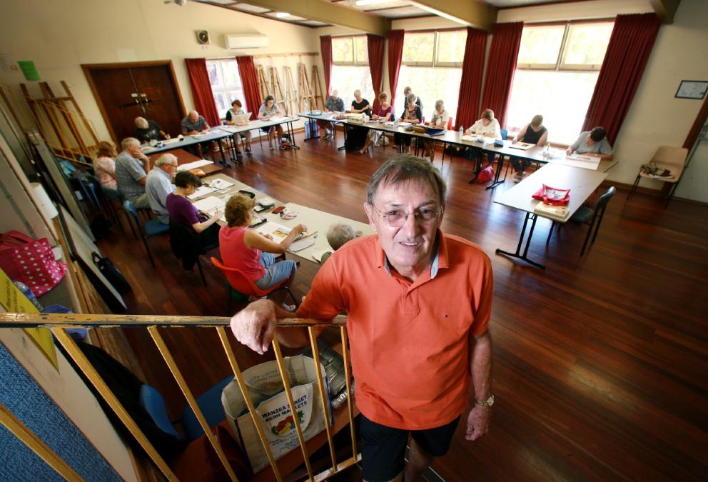 David Storer at the Kalamunda Learning Centre. Picture: David Baylis d452017