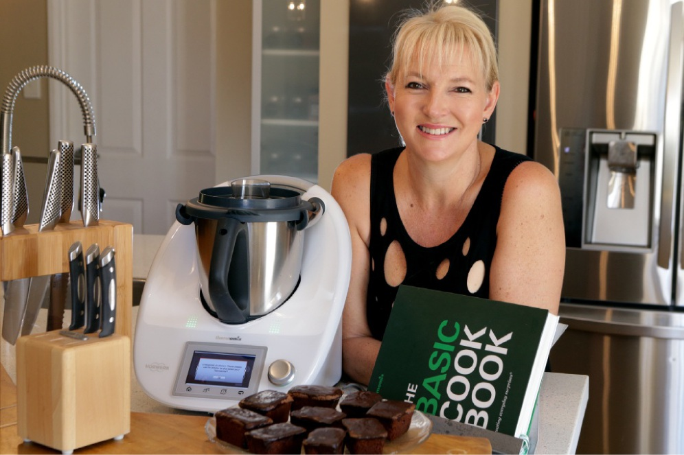 Kerry Langsford has had her recipe included in a new Thermomix cookbook. Picture: Martin Kennealey        www.communitypix.com.au   d449998