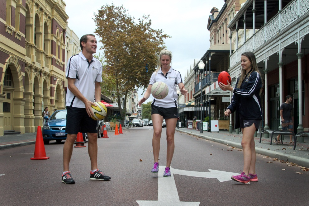 Liam Thompson, Caitlin O'Donnell and Brittany Mills. Picture: Robin Kornet    d451758