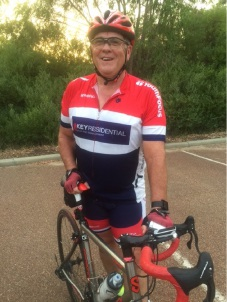 Reg Howard-Smith is looking forward to taking part in the Ride for Youth again this year.