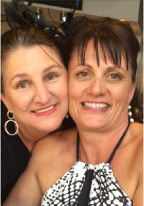 Debbie Woodworth and Julie O'Keefe. Mrs O'Keefe is organising a fundraiser for for Mrs Woodworth, who is fighting ovarian cancer.