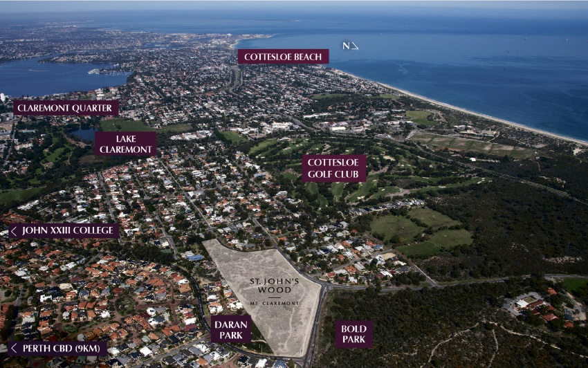 First offering of residential lots at Mt Claremont estate