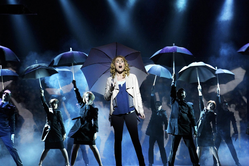 Jemma Rix in Ghost The Musical.