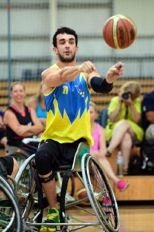 Shoot hoops with Aussie Rollers