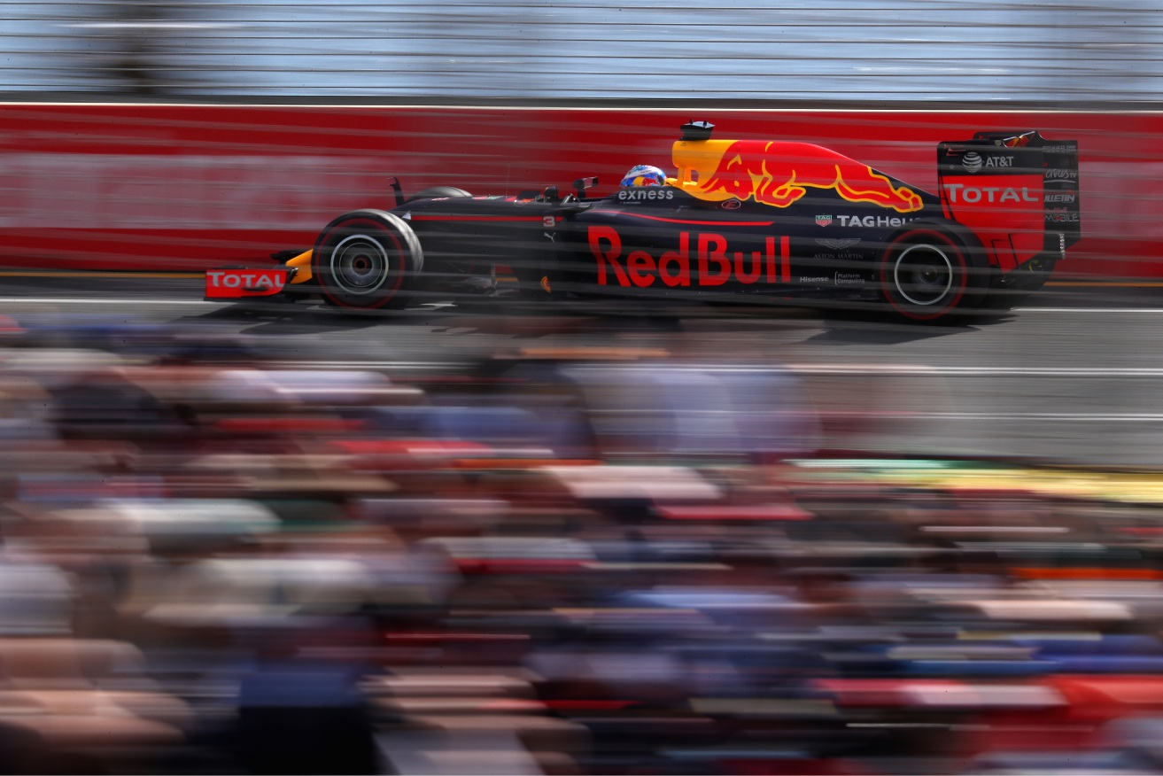 Daniel Ricciardo had a creditable fourth in his home event.        Picture: Clive Mason/Getty Images
