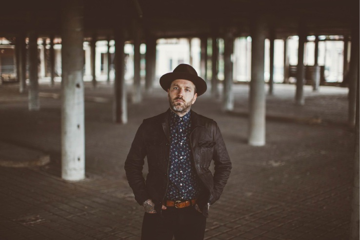 City and Colour singer-songwriter Dallas Green.