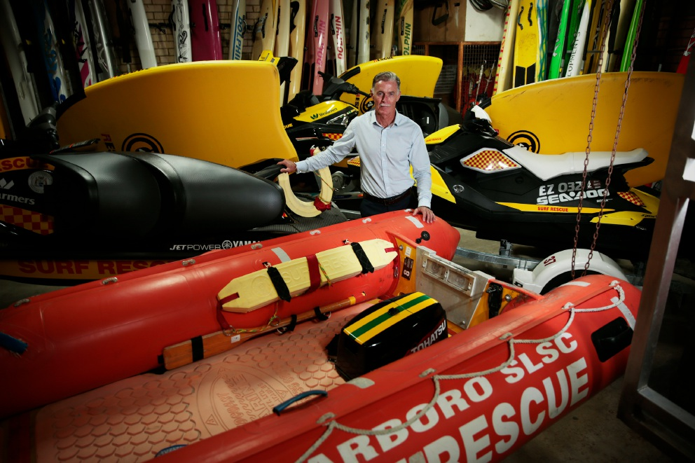 Scarboro Surf Life Saving Club president Alan Carville. Picture: Andrew Ritchie www.communitypix.com.au   d451362
