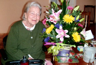 Kathleen Trew recently celebrated her 90th birthday.