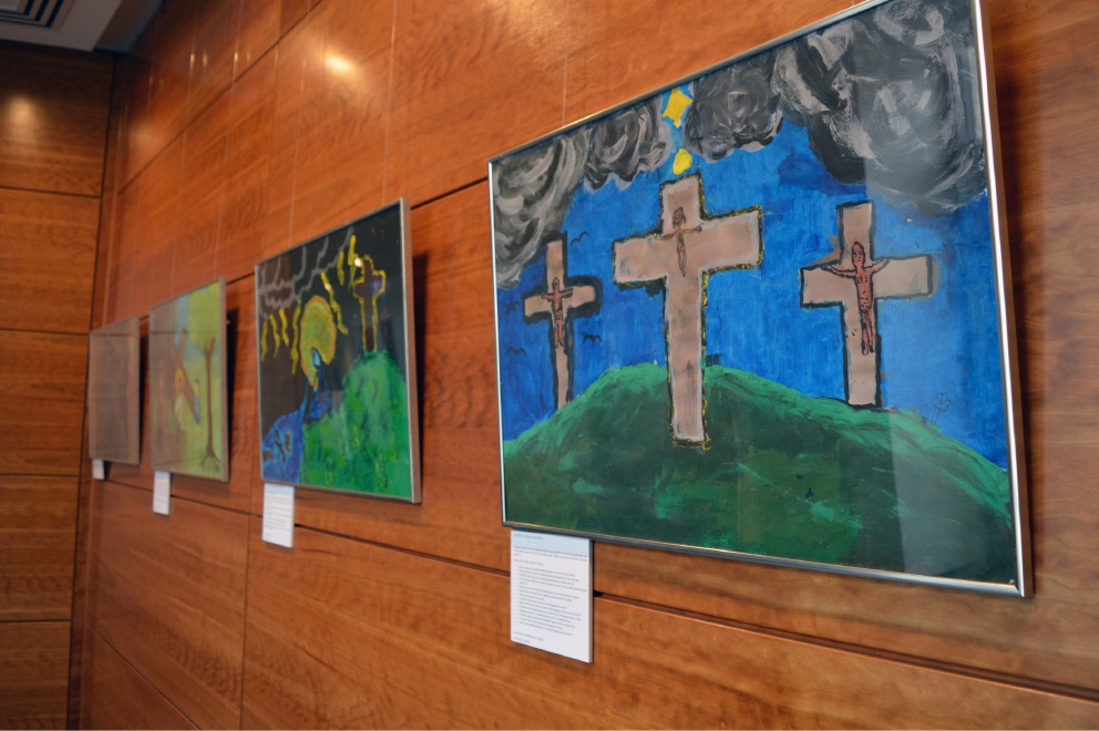 An art exhibition focused on Jesus Christ's Passion is on |display at All Saints' College.