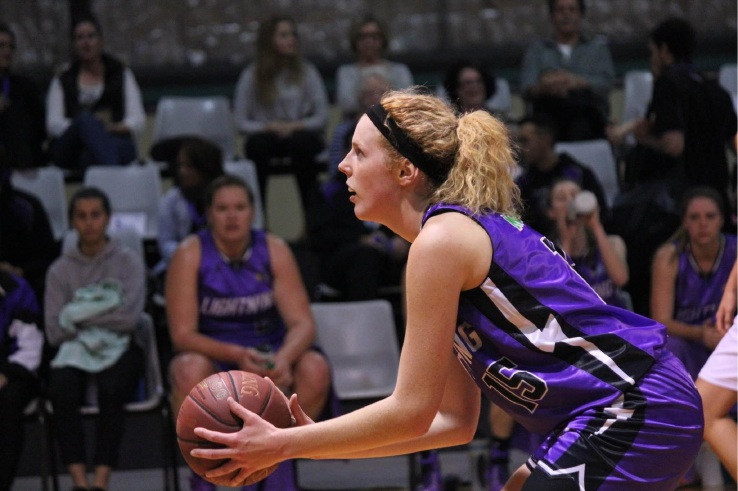 Perth Lynx academy player Ashleigh Grant will be back in action for Lakeside Lightning in 2016. Picture: Erin Tuckey