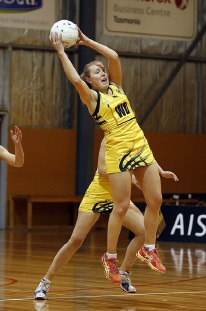 Western Sting's Jessica Anstiss. DARLING Range netball players Jessica Anstiss and Nicole Lendich have again made the 2016 Western Sting squad.