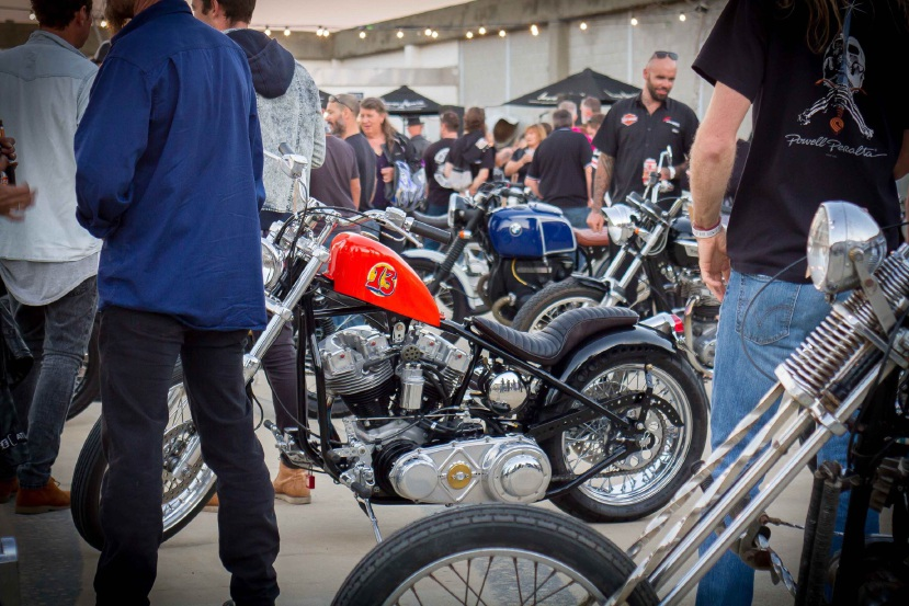 Retro and custom motorcycles will be on display on the Many 6160 rooftop for the Rooftop Retro Bike Show next month.