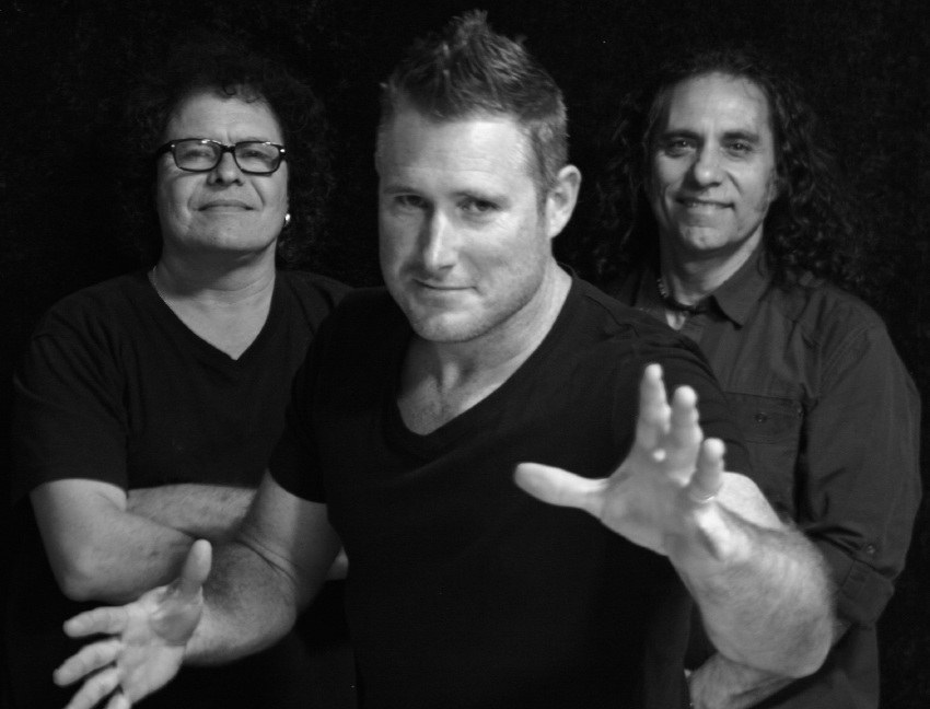 Frank Celenza, Andrew Winton and Eddie Pariseat are band Electrik Co Trio.