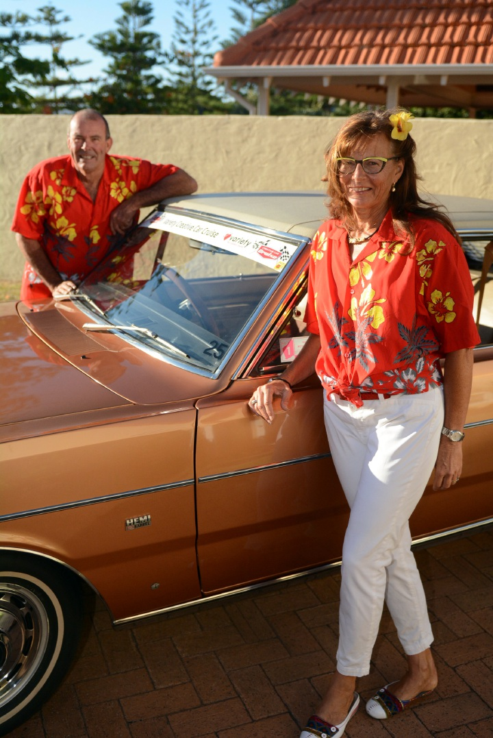 Car cruise revs up charity help
