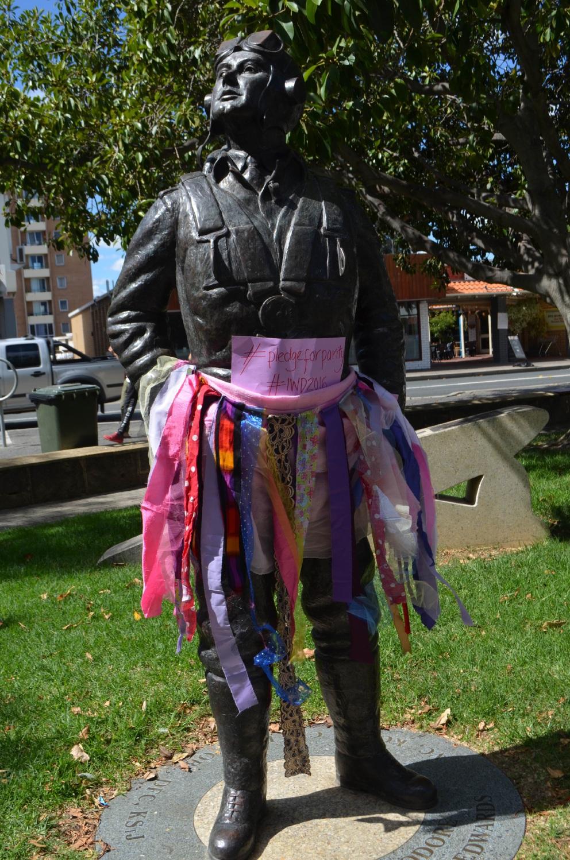 Tutu protest over lack of female statues