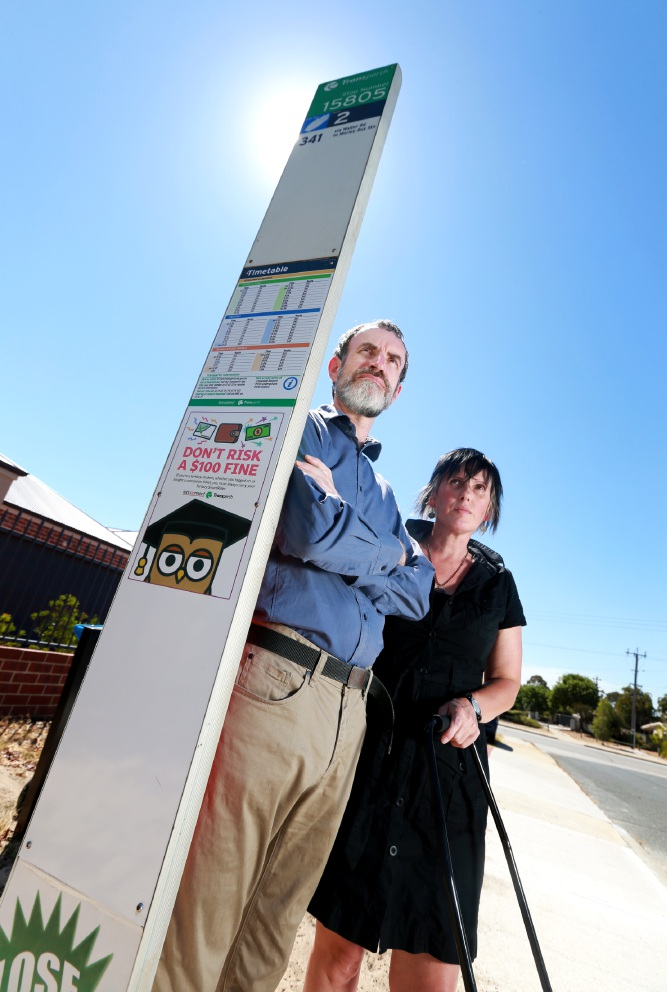 Anger at bus shelter removal