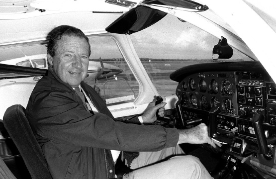Desmond O'Connor drew on his experience as a pilot for his debut novel.