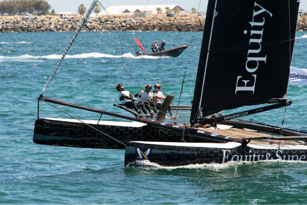 Sailing action off Fremantle's Bathers Beach. Pictures: Will Russell www.communitypix.com.au   d450614