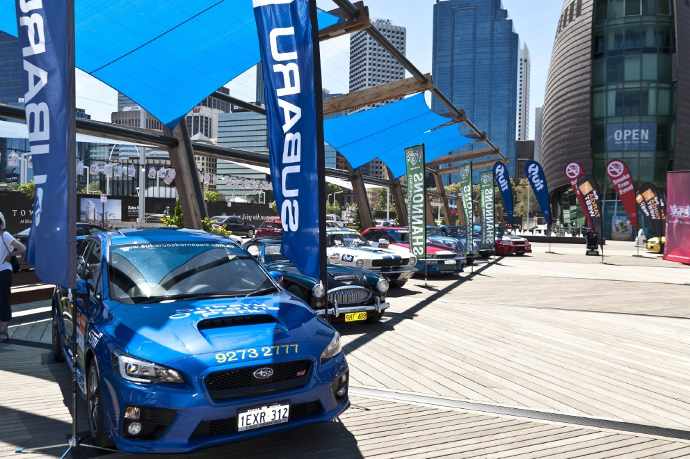 The 2016 Targa West season launch in Perth. Picture: Andrew Kilburn