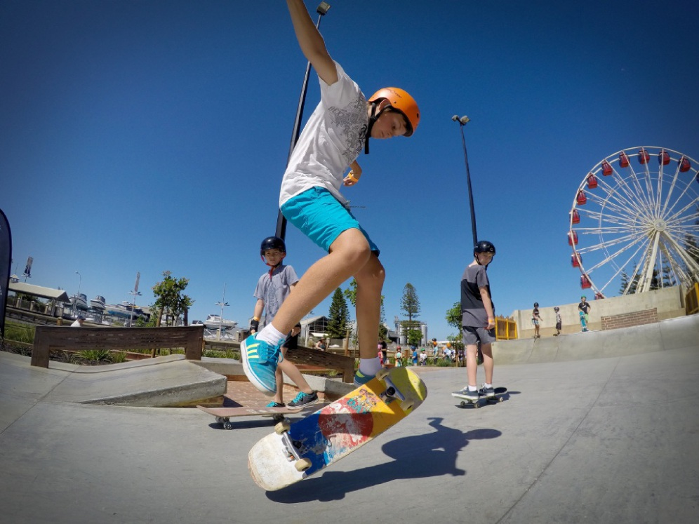 The Yanchep Skate Plaza group wants a facility similar to Fremantle's Esplanade Youth Plaza.       d431432