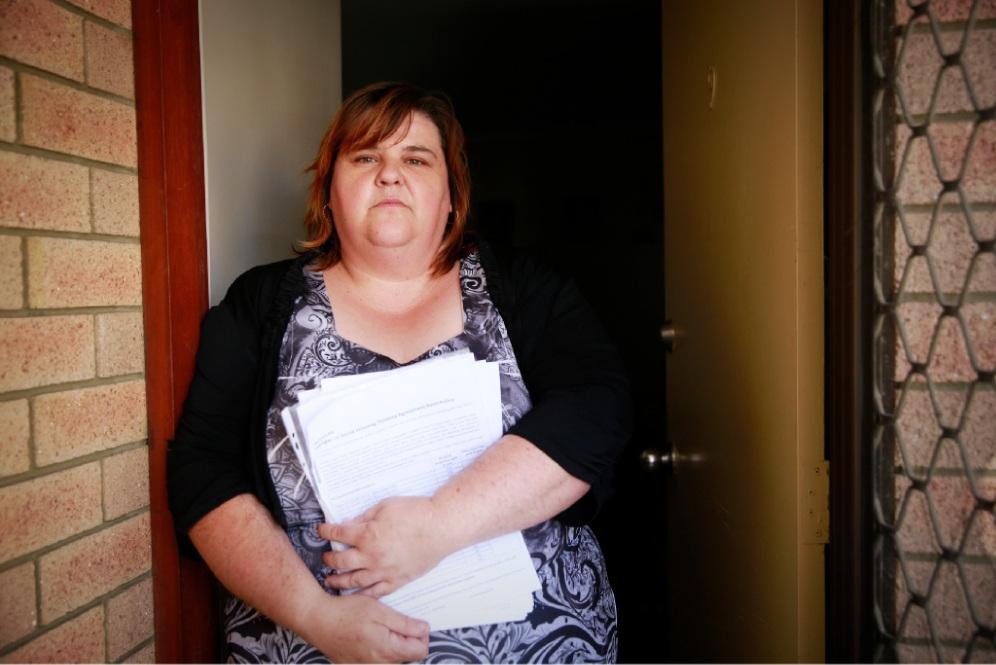 Noranda resident Rebecca Anderson. Picture: Andrew Ritchie www.communitypix.com.au   d450699