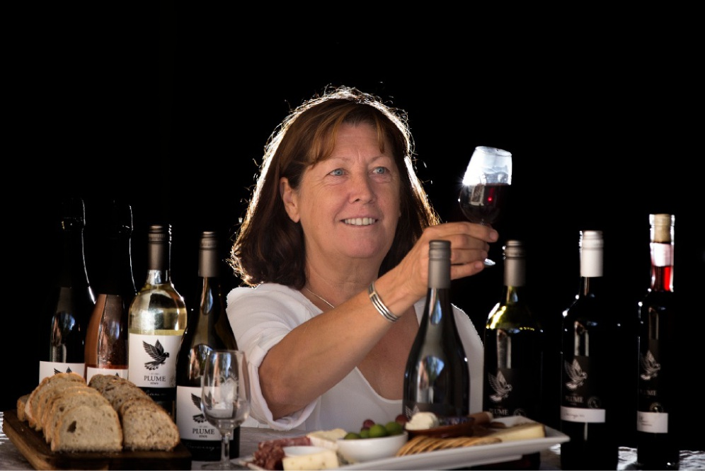 Audrey Volmer of Plume Estate Vineyard. Picture: Will Russell         www.communitypix.com.au   d450659