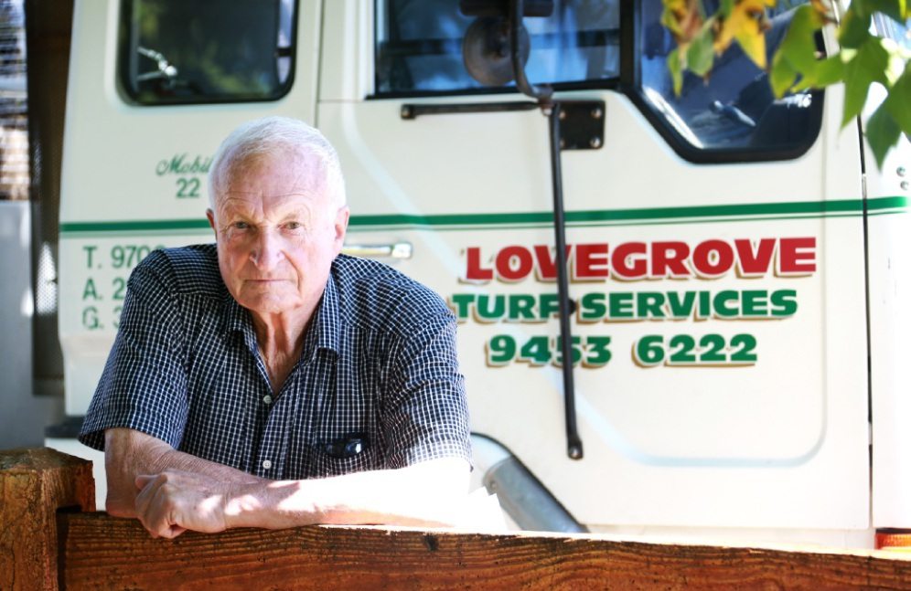 Local business owner Dick Lovegrove is not happy about a plan to move Wattle Grove into the Shire of Gosnells. Picture: David Baylis www.communitypix.com.au   d450447
