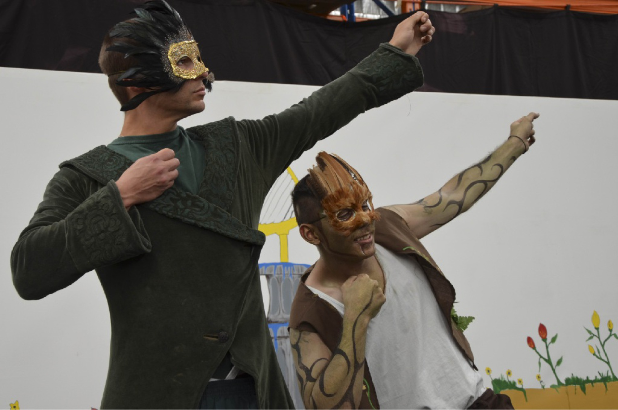 Acacia Prisoners performed A Midsummer Night's Dream at Acacia Prison in November last year, as part of a rehabilitation program.