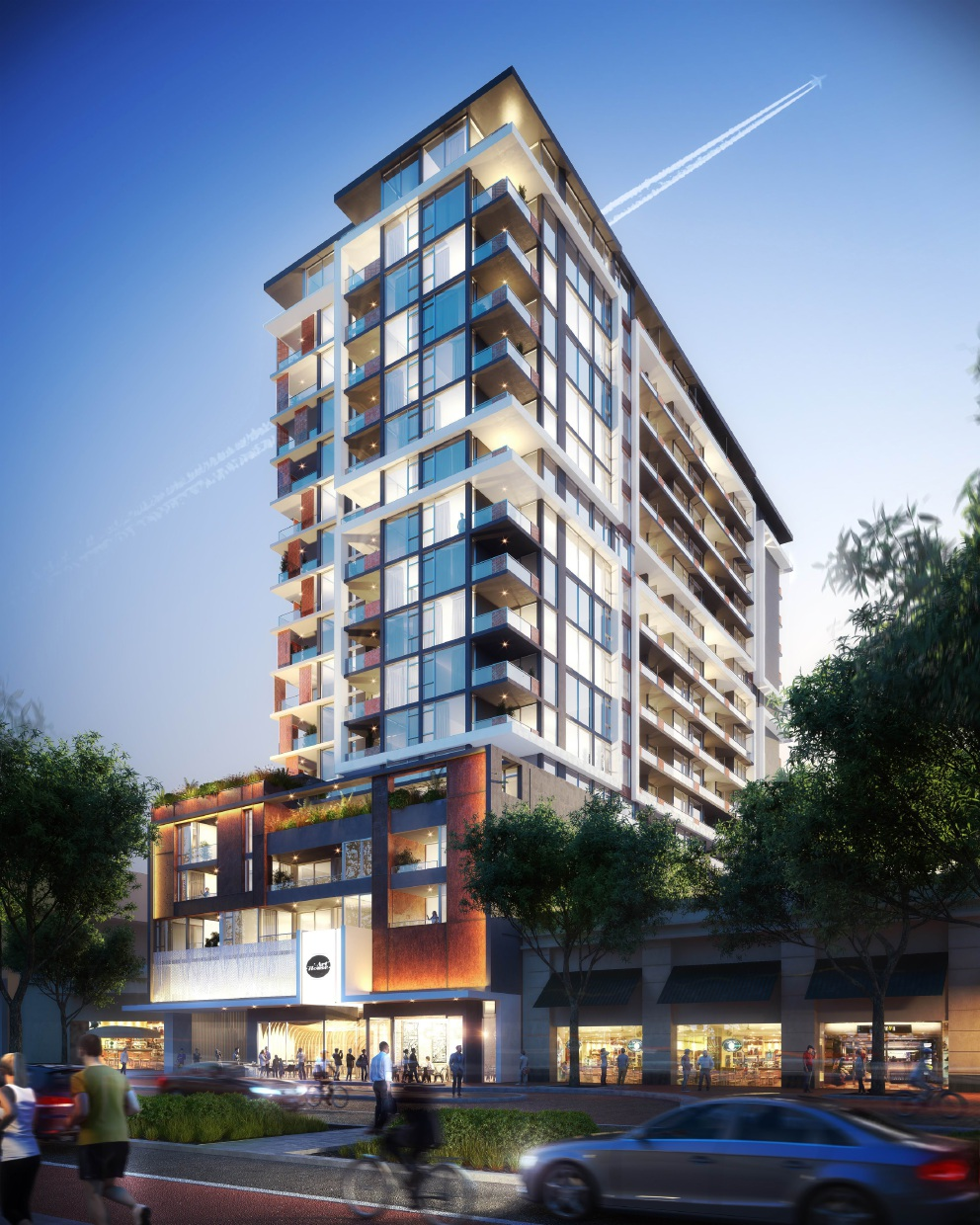 17 South Apartments: Joondalup City Centre's Tallest High Rise Underway In