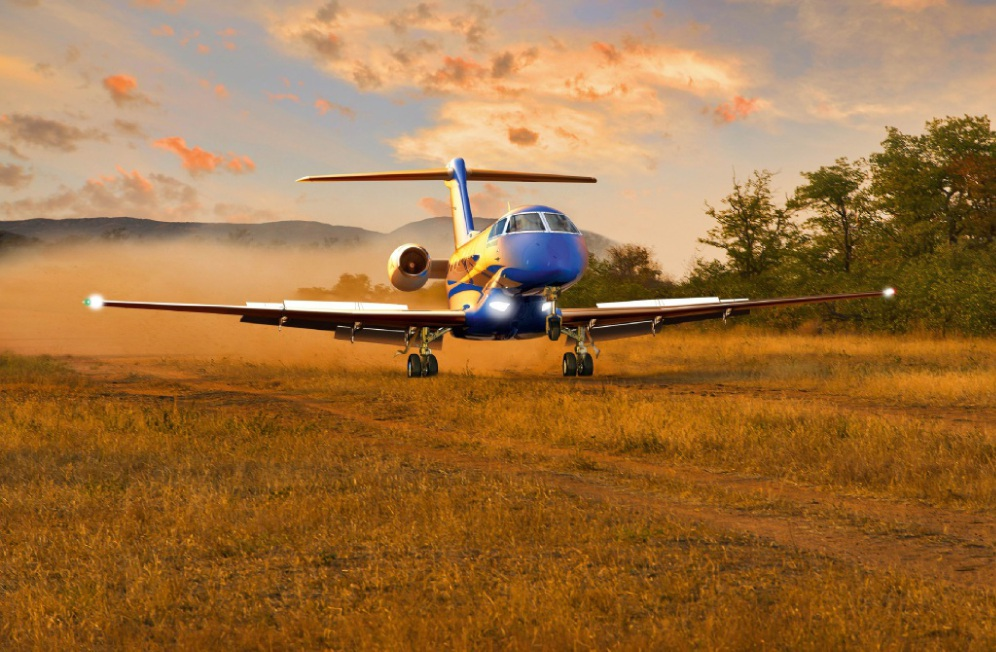 The new hangar will house three new Pilatus PC-24 jets to be purchased by the Royal Flying Doctor Service.