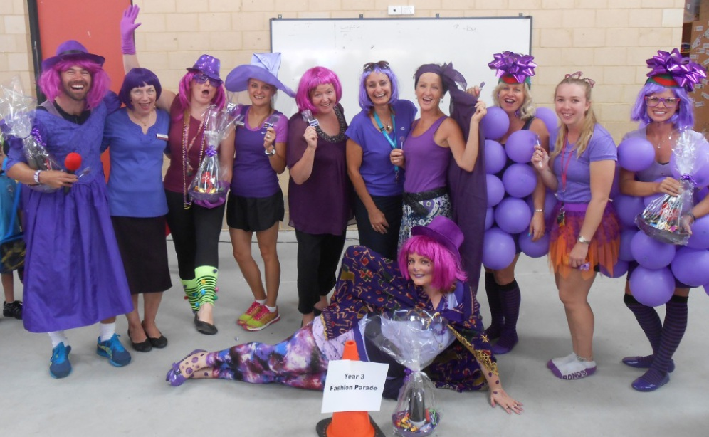 Ellen Stirling Primary School will hold its fourth Purple Haze Day next week.