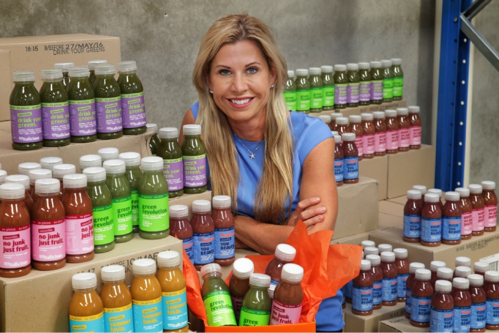 Vitalicious owner Viv Trader. Picture: Martin Kennealey        www.communitypix.com.au   d450738