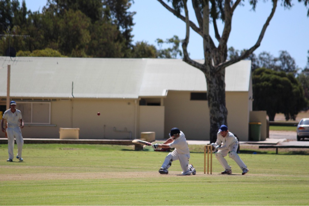 Chris Wood in his innings of 56 off 47.                                                                                Pictures: Bryce Luff