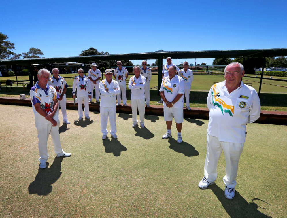 Cannington Bowling Club members . Picture: Matt Jelonek