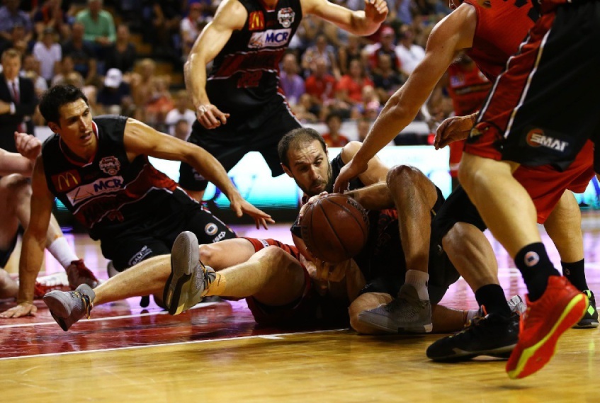 Illawarra took it up to the Perth Wildcats in game two of the semi-final series. Picture: Getty Images