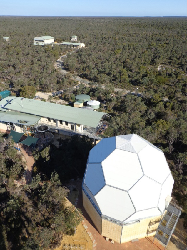 The Gravity Discovery Centre in Gingin.