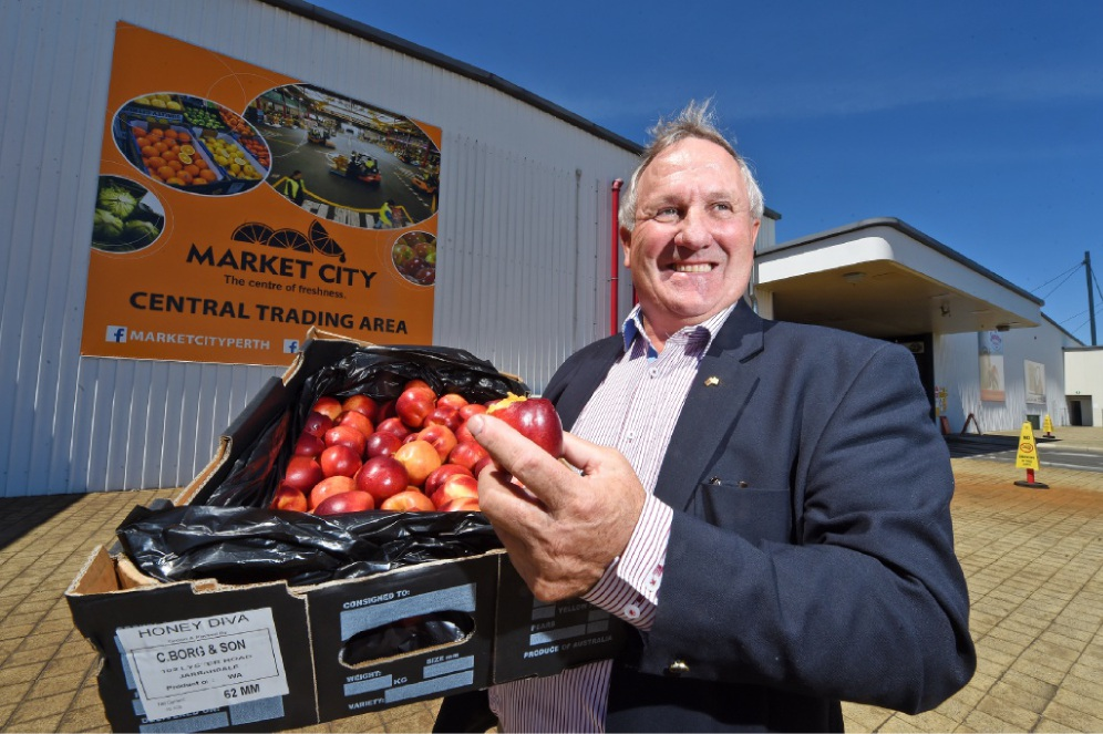 Perth Markets Limited founding chairman Paul Omodei. Picture: Jon Hewson        www.communitypix.com.au   d450367