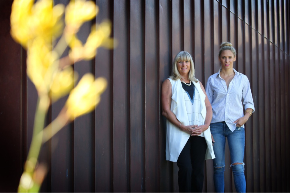 Jennifer Rose Bryant, who founded Business Women Australia, and businesswoman Rayne Embley will host an IWD lunch where Rayne will speak.  Picture: Andrew Ritchie d449949