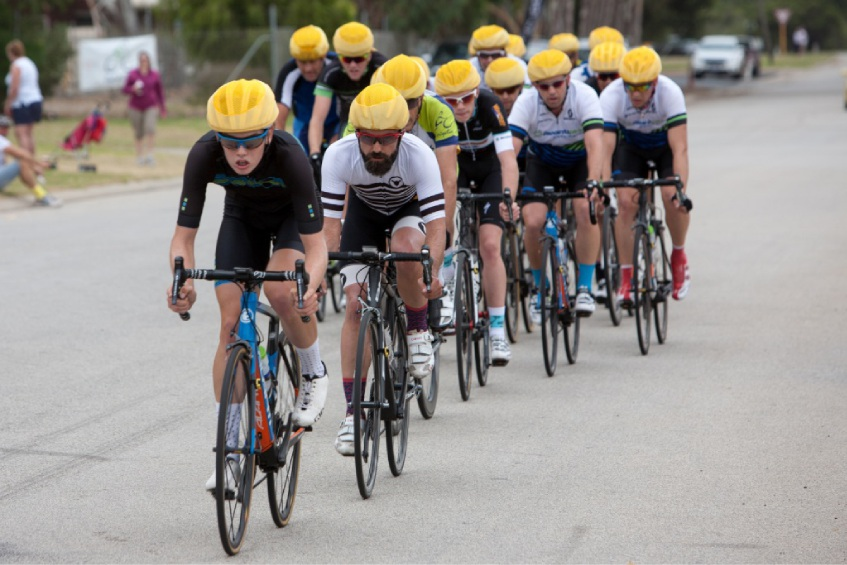 Riders relish the flat